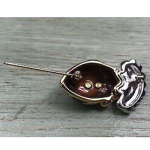 Swarovski Jewelry - SWAROVSKI PIERROT CLOWN RHINESTONE BROOCH